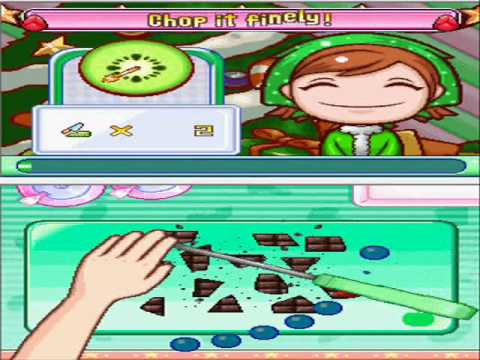 Cooking Mama 3:Shop And Chop - Cooking Contest - Chop It Finely!