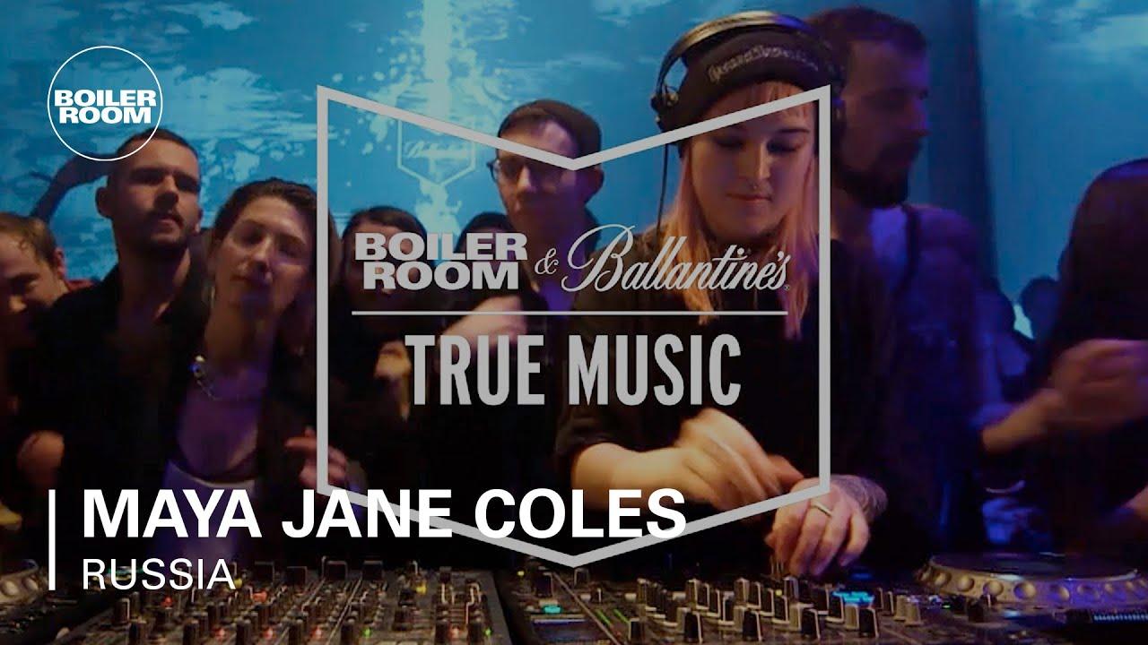 Maya Jane Coles - Live @ Boiler Room & Ballantine's True Music Russia 2017