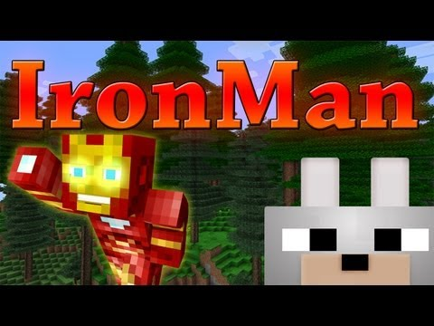 Minecraft mods iron man 1 3 2 review and tutorial