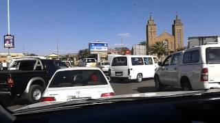 Maseru Lesotho  City new picture : Traffic in the Lesotho capital of Maseru