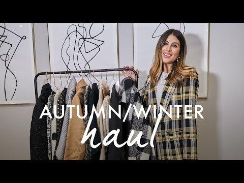 AUTUMN WINTER HIGH STREET HAUL | TOPSHOP / H&M / ASOS / MANGO / & OT… видео