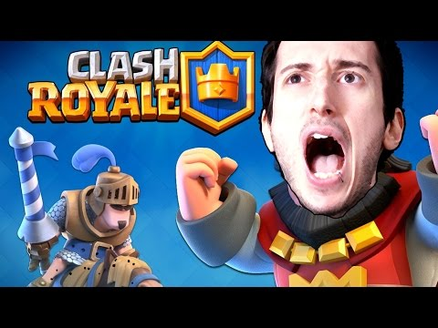 gameplay di clash royale