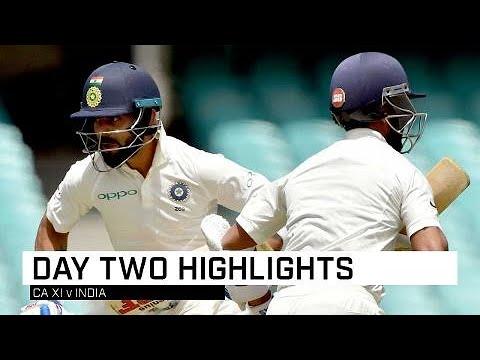India batsmen pile up runs against CA XI_A héten feltöltött legjobb sport videók