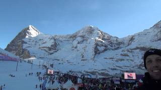 Lauberhorn Rennen Ski Race Patrouille Suisse Spectacular View :Mountains