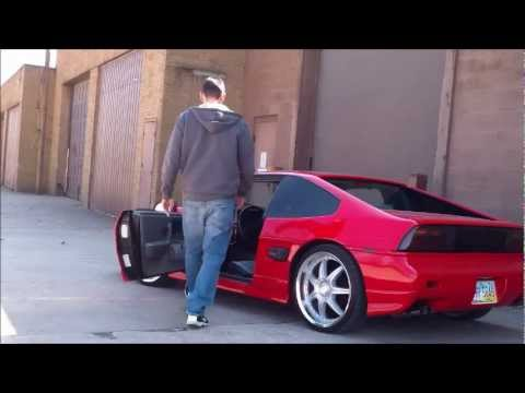 Paul's Lowered Fiero Gt