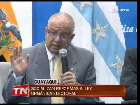 Socializan reformas a ley orgánica electoral