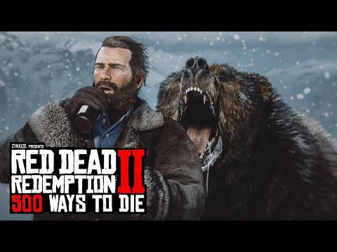 500 Ways To Die in Red Dead Redemption 2 (PART 2)