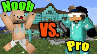 Video MINECRAFT - NOOB vs. PRO (Super Funny) MP3, 3GP, MP4, WEBM, AVI, FLV Maret 2018