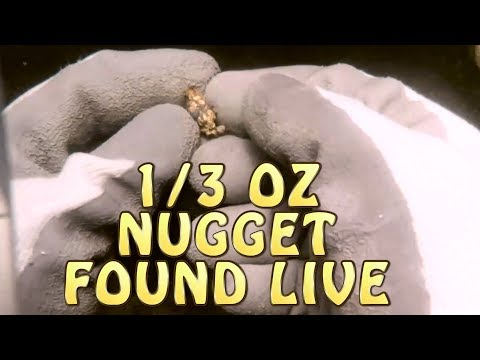9.2 Gram Nugget Found Live While Dredging A.G.P Gold Show Se.02 Ep.02