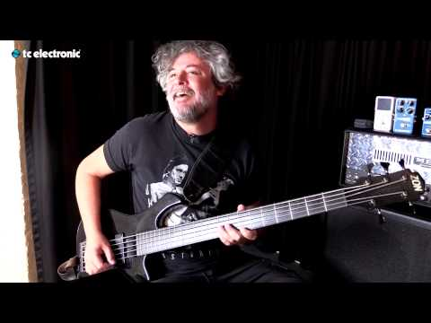 "In this video Paulo Jr. from Sepultura uses his ""Impending Doom"" TonePrint for Corona Chorus pedal from TC Electronic."