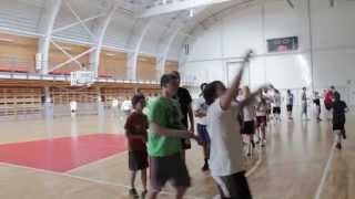 Latvia Basketball Camp - 2012 - Day 2