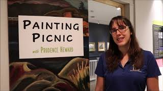 Painting Picnic Talks: Exhibit Design