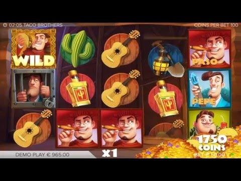 Taco Brothers Slot Machine at CloudCasino.com