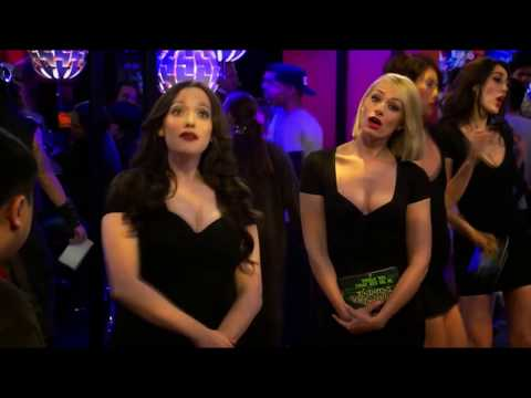 2 Broke Girls - Season 5 Episode 11 Max And Caroline The  Booth Babes