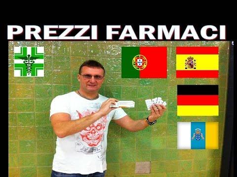 PREZZO FARMACI Germania-Portogallo-Spagna-Canarie !!!!