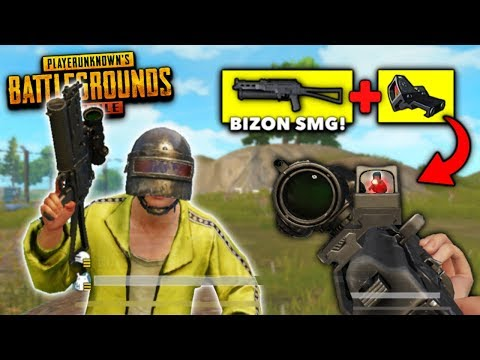 DOUBLE BIZON + CANTED SIGHT In PUBG Mobile! (New OP Weapon Combo)