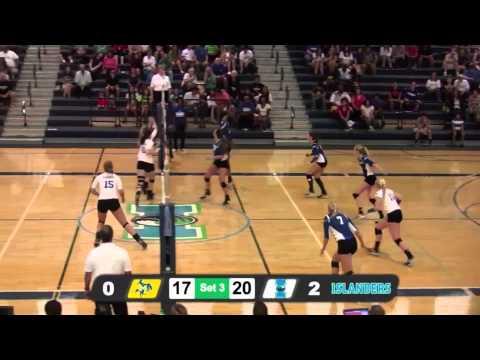 Islanders Volleyball Blanks McNeese State