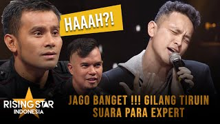 Download Video Gilang Dirga Tiru Suara Vokal Para Expert - Rising Star Indonesia Super 9 Eps 19 MP3 3GP MP4