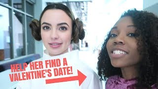 HELPING MY FRIEND FIND A BOYFRIEND FT. AARON BURRISS AND THE MERRELL TWINS | VLOG 15