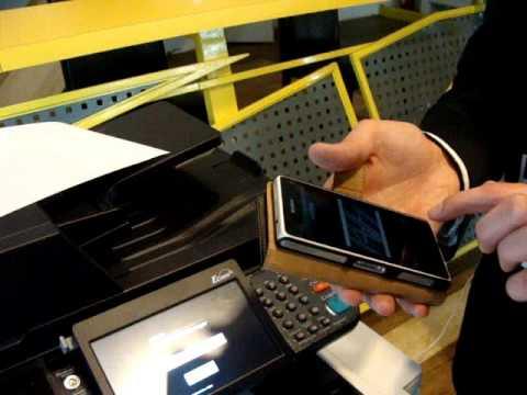 Kyocera: печать со смартфона