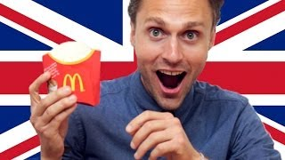 Video Americans Try British McDonald's MP3, 3GP, MP4, WEBM, AVI, FLV Januari 2018