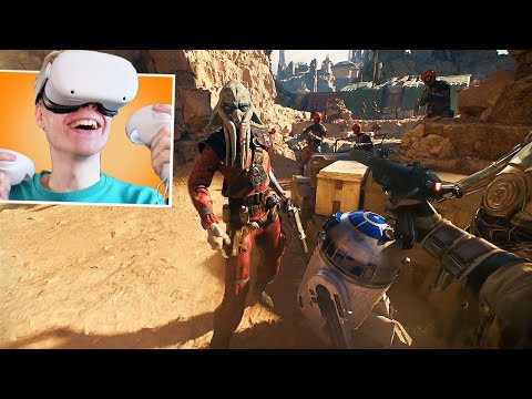 Star Wars: Tales From Galaxy's Edge VR On The Oculus Quest 2 Is A Blast!