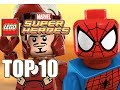 TOP 10 LEGO Marvel Superheroes Characters