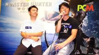 將會於明年初推出的 PS4 遊戲 Monster Hunter: World 製作人辻本良三和監督德田優也,趁香港動漫電玩節期間來港宣傳遊戲,並為《 PCM 》讀者講述他們對 VR 和 eSport 的想法。