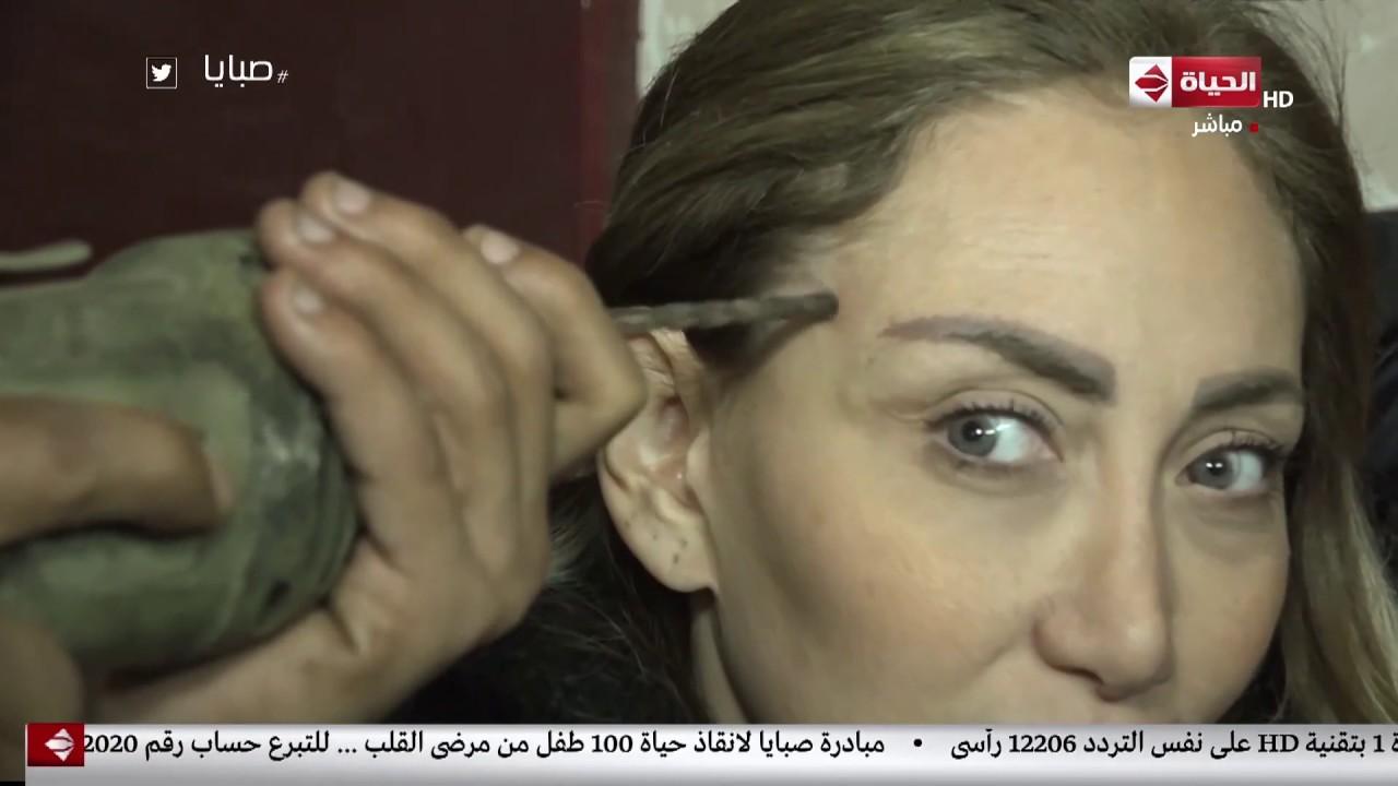 لن تصدق ريهام سعيد تضحي بحياتها وتضع الشينيور في رأسها