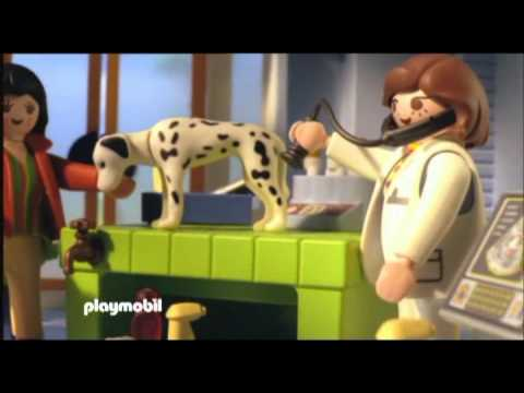 clinique veterinaire playmobil}
