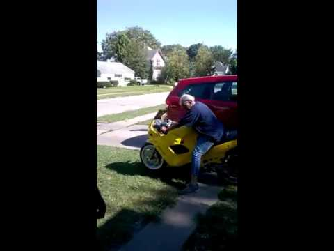 This Grandma Conquers Riding A Motorcycle With Ease!