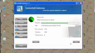 Covirosoft Version 1.5 Vs Eicar Test File