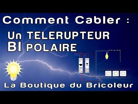 de A a Z : telerupteur bipolaire bouton poussoir reference 412412 legrand la boutique du bricoleur