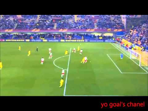 Yellow submarine of Villarreal sink Salzburg with Cheryshev volley