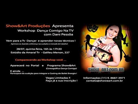 Promocional ! Workshop Dança na Tv com Dani Pessôa