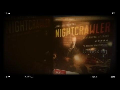 Nightcrawler Bluray unboxing!