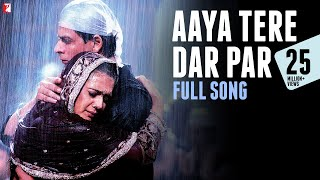 "True love stands the test of time and always triumphs over difficulties. Listen to 'Aaya Tere Dar Par' from the film 'Veer-Zaara'.Song Credits:Song: Aaya Tere Dar ParSingers: Ahmed Hussain, Mohd. Hussain, Mohd Vakil & Javed HussainMusic: Late Madan MohanLyrics: Javed AkhtarWatch Full Movie: ► Google Play - http://goo.gl/nwtYJu► iTunes - https://goo.gl/rif1j9Enjoy & stay connected with us!► Subscribe to YRF: http://goo.gl/vyOc8o► Like us on Facebook: https://facebook.com/yrf► Follow us on Twitter: https://twitter.com/yrf► Follow us on Instagram: http://instagram.com/yrfMovie Credits:Starring: Shah Rukh Khan, Rani Mukerji, Preity Zinta, Kirron Kher, Divya Dutta, Boman Irani and Anupam Kher Special Appearances: Amitabh Bachchan, Hema Malini and Manoj BajpaiDirected by: Yash Chopra Produced by: Yash Chopra and Aditya ChopraMusic: The Late Madan Mohan Lyrics: Javed AkhtarMusic Recreated by: Sanjeev Kohli Story, Screenplay and Dialogues: Aditya Chopra Release Date: 12 November 2004Synopsis""Squadron Leader Veer Pratap Singh (Shah Rukh Khan) is a rescue pilot with the Indian Air Force. In the line of duty he comes across a stranded Zaara (Preity Zinta)... a girl from Pakistan who has come to India to fulfill her surrogate mothers dying wish. Veer saves her life and his life is never the same again.Twenty two years later Saamia Siddiqui (Rani Mukerji), a Pakistani human rights lawyer on her first case, finds herself face to face with an aging Veer Pratap Singh. He has languished in a Pakistan jail cell for 22 years and has not spoken to anyone all these years. And no one knows why. Her mission is to discover the truth about Veer and see to it that justice is served.VEER-ZAARA is a saga of love, separation, courage and sacrifice. A love that is divine, a love that is whole-hearted, a love that is completely consuming, a love that grows with separation & deepens with sacrifice. A love that is an inspiration... and will remain a legend forever."