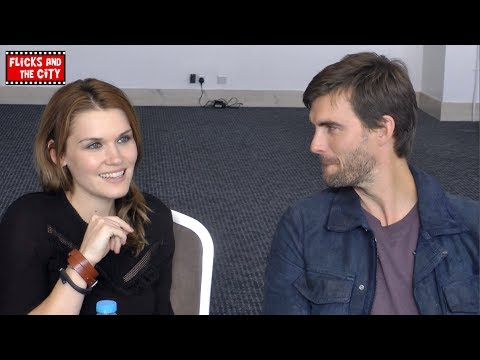 Haven Cast Interview - Emily Rose & Lucas Bryant