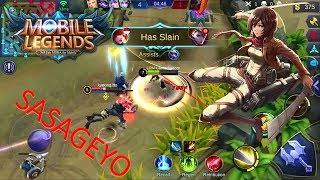 "Video ""SASAGEYO MOBILE LEGENDS"" Mobile Legends #1 MP3, 3GP, MP4, WEBM, AVI, FLV Maret 2018"