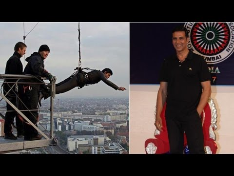 Stunt Is A Very Interesting Thing: Akshay Kumar