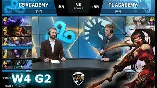 Video Cloud 9 Academy vs Team Liquid Academy   Week 4 of S8 NA Academy League Spring 2018   C9A vs TLA MP3, 3GP, MP4, WEBM, AVI, FLV Juni 2018