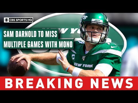 Video: Darnold sidelined by mono, out for Monday night matchup vs Browns and likely longer | CBS Sports HQ