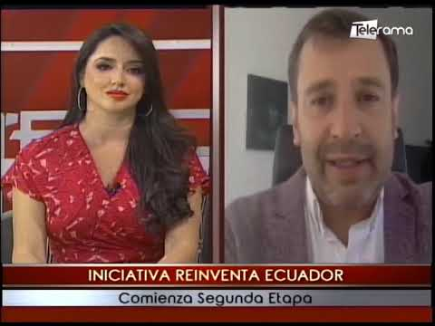 Iniciativa reiventa Ecuador comienza segunda etapa