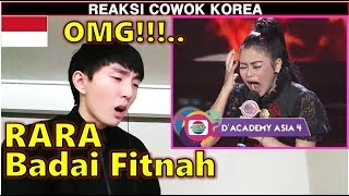 Download Video COWOK KOREA KAGET Dengar RARA - BADAI FITNAH DA Asia 4 Top 20 MP3 3GP MP4