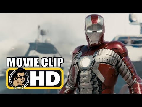 IRON MAN 2 (2010) Movie Clip - Iron Man Vs. Whiplash Monaco Fight |FULL HD| Marvel Superhero Movie