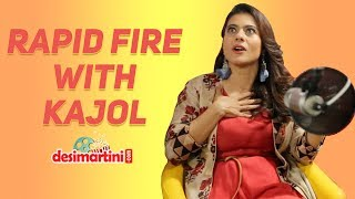 Rapid Fire With Kajol | V.I.P. 2 | Dhanush | Soundary | Fever 104 FM |