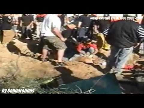 SCORE BAJA 1000 EXTREME CRASH by SAHUAROfilms
