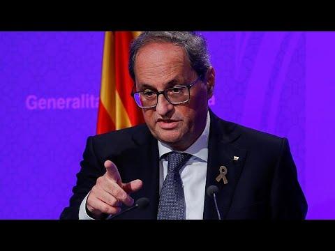 Η Καταλονία διεθνοποιεί τις καταδίκες των ηγετών της