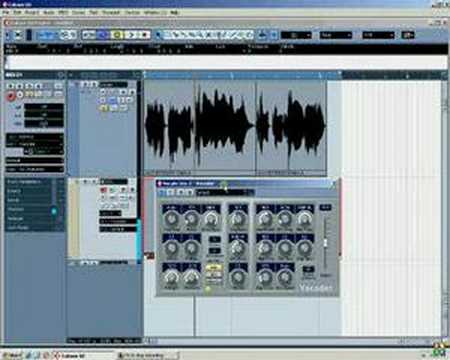 Cubase Video Tutorial – Vocoder (Transformers Style)