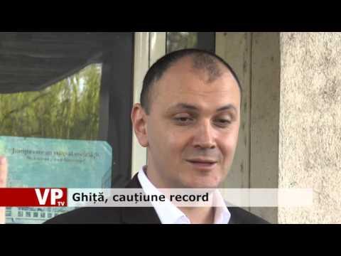 Ghiță, cauțiune record